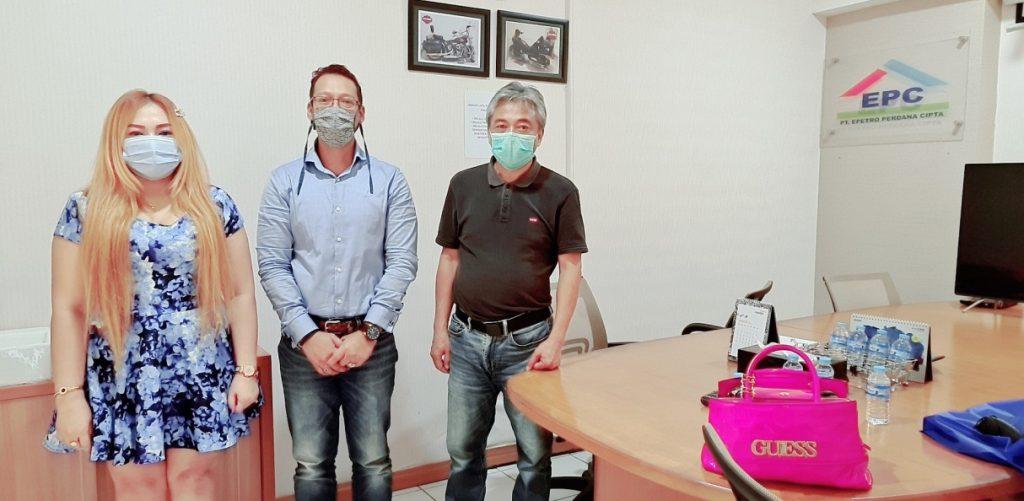 Foto Kerjasama Trading antara PT. Dewi Mustika Sakti dengan PT. EPC